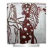 Lord Bless Me 6 Tile Shower Curtain