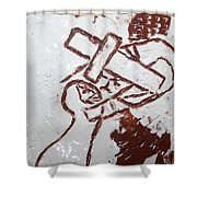 Lord Bless Me 9 - Tile Shower Curtain