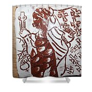 Lord Bless Me19 - Tile Shower Curtain