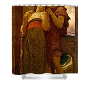 Lord Frederic Leighton - Wedded Shower Curtain