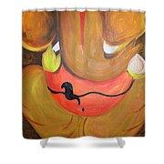 Lord Ganesh Ji Shower Curtain