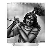 Lord Krishna Shower Curtain