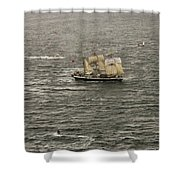 Lord Nelson Enters Sydney Harbour Shower Curtain