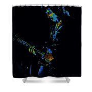 Lord Of The Cosmic Blue World Shower Curtain