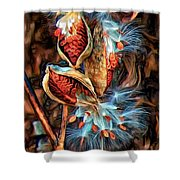 Lord Of The Dance - Paint 2 Shower Curtain