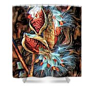 Lord Of The Dance - Paint Shower Curtain