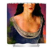 Lord Of The Rings Arwen Shower Curtain