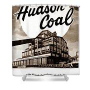 Loree Colliery Larksville Pa. Hudson Coal Co  Shower Curtain