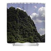 Loreley Rock 06 Shower Curtain