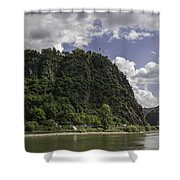 Loreley Rock 10 Shower Curtain