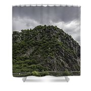 Loreley Rock 12 Shower Curtain