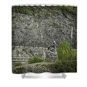 Loreley Squared Shower Curtain