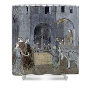 Lorenzetti: Good Govt Shower Curtain