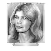 Loretta Swit Shower Curtain