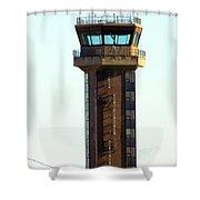 Loring Air Base Tower Shower Curtain