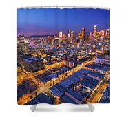 Los Angeles At Dusk Shower Curtain