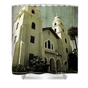 Beverly Hills Church Shower Curtain