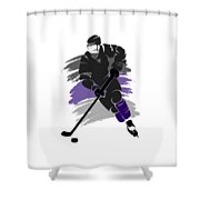 Los Angeles Kings Player Shirt Shower Curtain