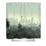 Los Angeles Morning Shower Curtain
