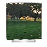 Los Angeles National Cemetary Shower Curtain