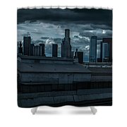 Los Angeles Rain Day Shower Curtain