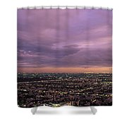 Los Angels Sunset Shower Curtain