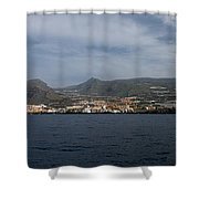 Los Gigantes Panorama 2 Shower Curtain