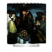 Los Ibericas Shower Curtain