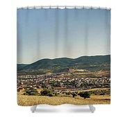 Los Navalucillos Panorama Shower Curtain