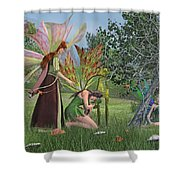 Loss And Lost  Shower Curtain