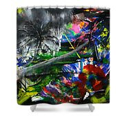 Lost 2 Shower Curtain