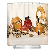 Lost Art Of Basket Making Shower Curtain