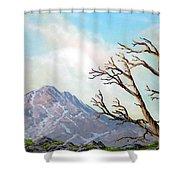 Lost Battle Shower Curtain