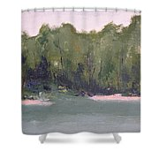 Lost Beach Shower Curtain