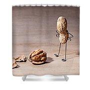 Lost Brains 01 Shower Curtain
