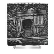 Lost Burro Mine Death Valley Shower Curtain