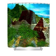 Lost City Shower Curtain