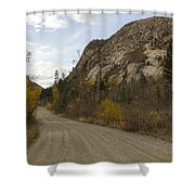 Lost Creek Road Shower Curtain