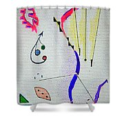 Lost Directions Shower Curtain