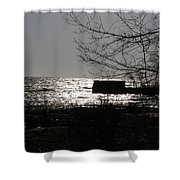 Lost For Words Shower Curtain