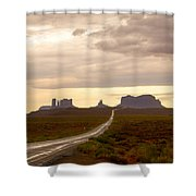 Lost Highway Shower Curtain