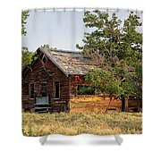 Lost Horizons Shower Curtain
