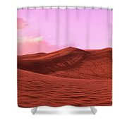 Lost In Dunes Shower Curtain