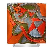 Lost In Puzzle - Tile Shower Curtain
