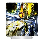 Lost In Space Abstract Shower Curtain
