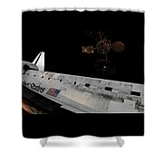 Lost In Space Shower Curtain