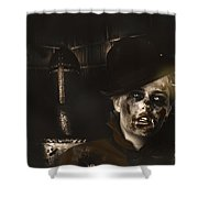 Lost In The Dark. Death Becomes You Shower Curtain