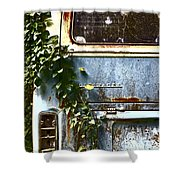 Lost In Time Shower Curtain by Carolyn Marshall