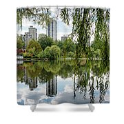 Lost Lagoon, Vancouver Shower Curtain