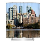 Lost Lagoon Vancouver  Shower Curtain